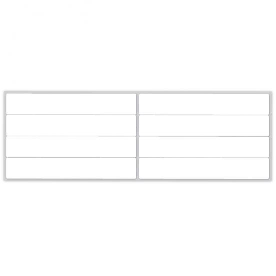 100 Blank Sew on Name Labels