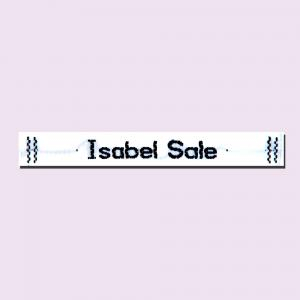 sew on clothing name tags printed woven labels