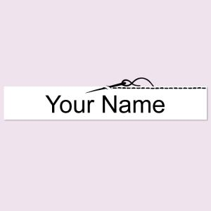 Medium Printed Sew on Name Label