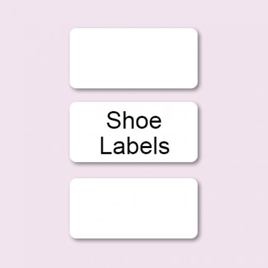 Shoe Label (Rectangular Design)